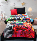Cartoon Character Bed Sheet - HEROEZ TEAM