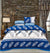 Quilted Reversible Bed Spread Set - Feather Branch