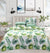 4 Pillows satin Bed Sheet - Gorgeous Floral