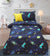 Cartoon Character Bed Sheet - Monster Galaxy