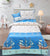Cartoon Character Bed Sheet - SEA SHIP