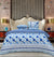 Quilted Reversible Bed Spread Set -MinGz Cliffs