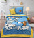 Cartoon Character Bed Sheet - Tom and Jerry