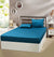 Cotton Satin king Fitted Bed Sheet - Nie'Night