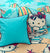 Cartoon Character Bed Sheet - Hello Kitty Beach