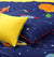 Cartoon Character Bed Sheet - Universe