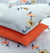 4 Pillows Bed Sheet - Mandarin