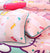 Cartoon Character Satin Bed Sheet - HELLO KITTY PARTY