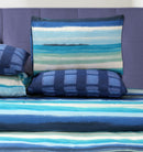 4 Pillows Bed Sheet - Ultra Waves