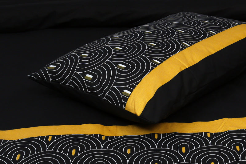 Cotton King Bed Sheet - Zen