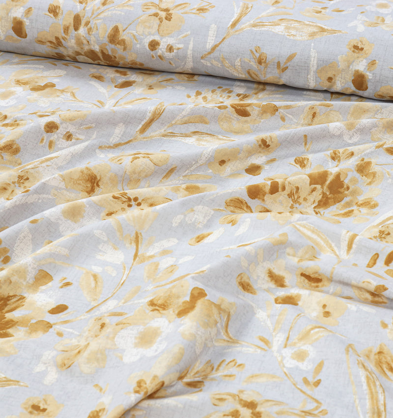 Cotton King Bed Sheet - Austere Floral