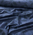4 Pillows Bed Sheet - Crepe Leaves