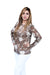 Jacquard Printed Top With Sleeves - Dalli