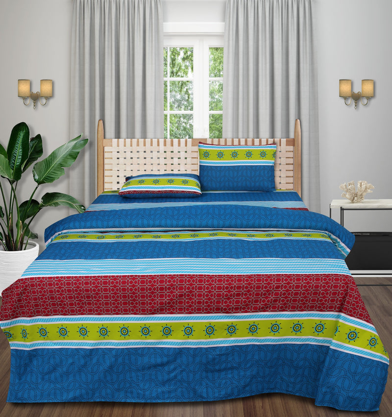Cotton King Bed Sheet - Sea Urchin