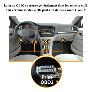 Valise diagnostic WIFI / BLUETOOTH multimarque compatible IOS | ANDROID | WINDOWS - accessories-car