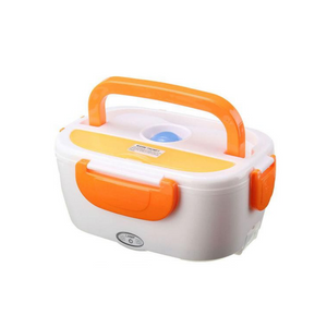 Lunch box chauffante allume cigare ORANGE - essentiel-auto