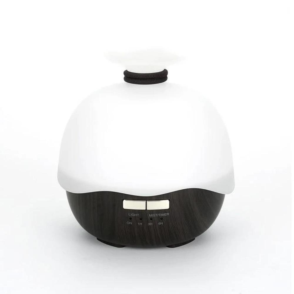 Humidificateur d'air Bowl Humidificateur d'air Airissime Bois sombre