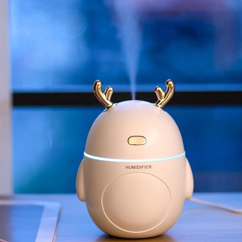 Humidificateur d'air Cerf mignon Humidificateur d'air Airissime Blanc