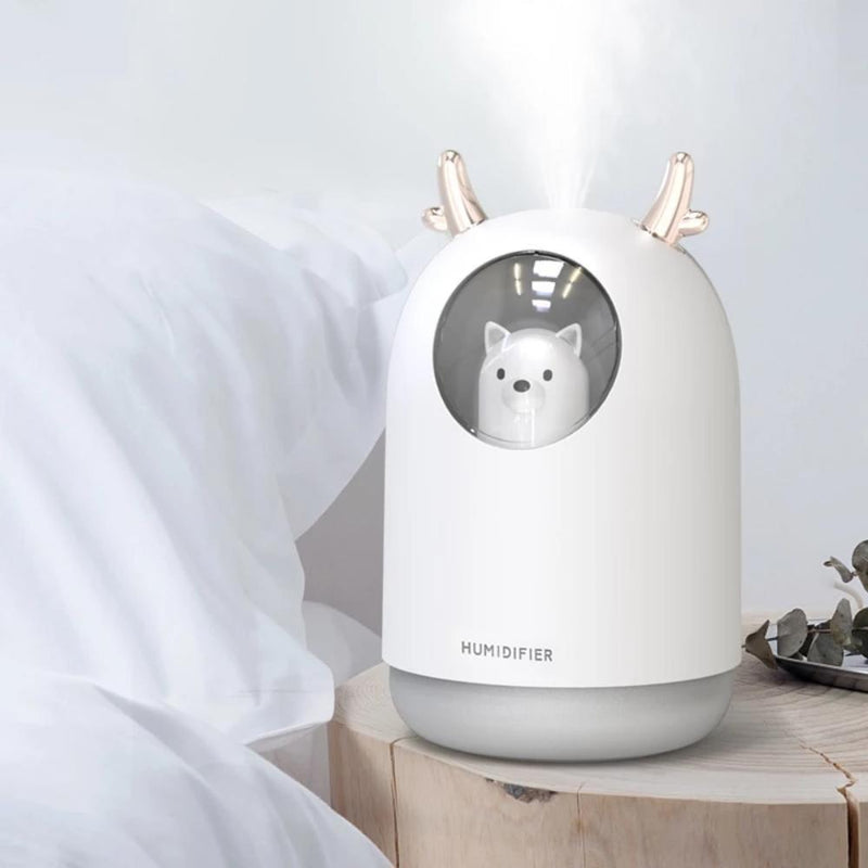 Humidificateur d'air Ourson Humidificateur d'air Airissime Blanc