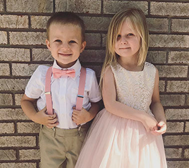 How To: Match Your Ring Bearer and Flower Girl