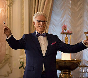 Michael From 'The Good Place' Is The King Of The Suit & Tie