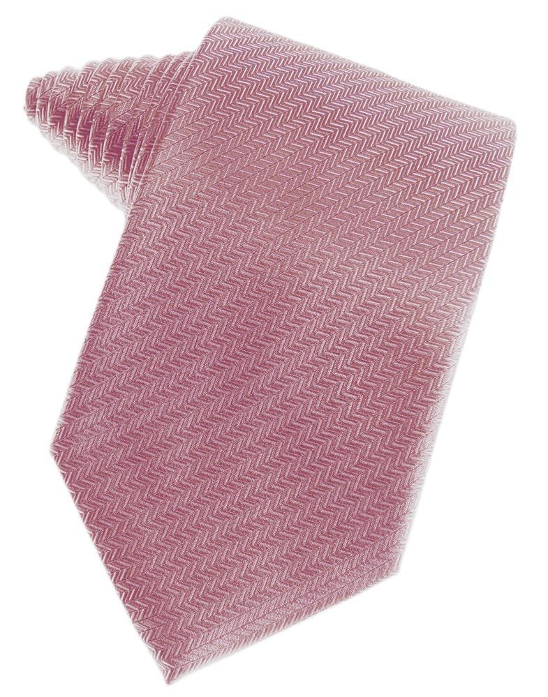 Rose Herringbone Necktie