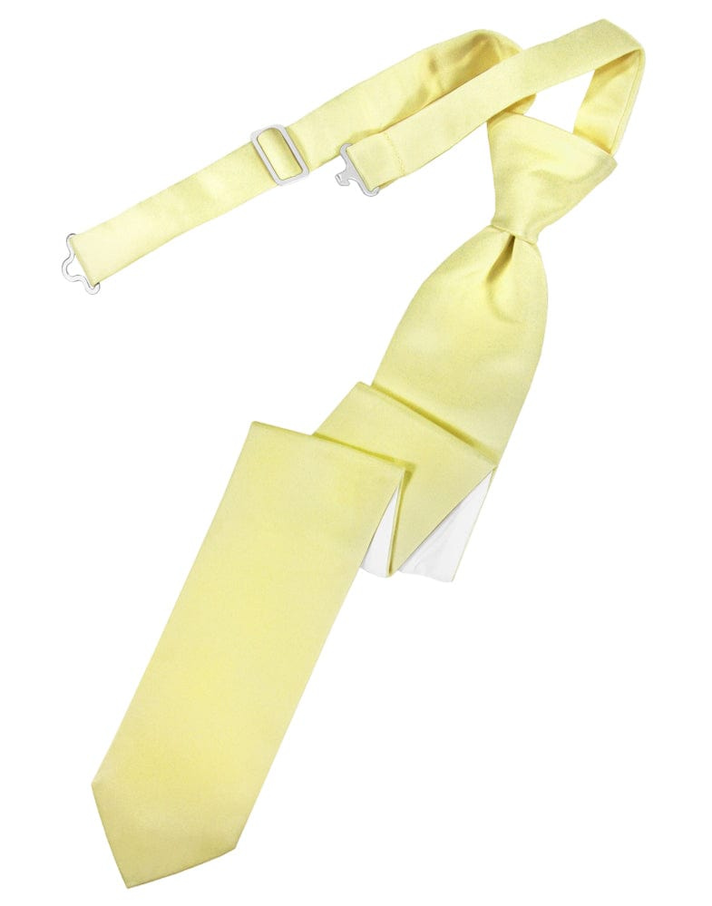 Banana Luxury Satin Skinny Windsor Tie
