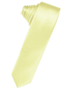 Banana Luxury Satin Skinny Necktie