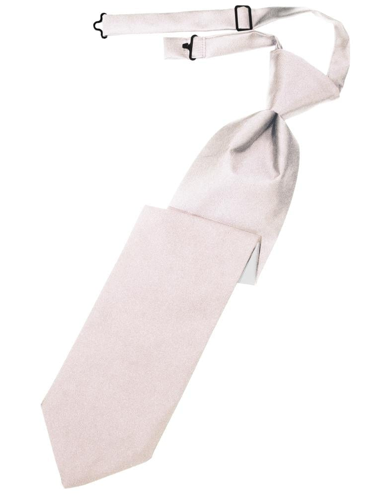 Blush Luxury Satin Kids Necktie
