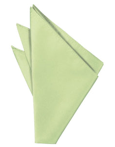 Mint Solid Twill Pocket Square