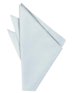Powder Blue Solid Twill Pocket Square