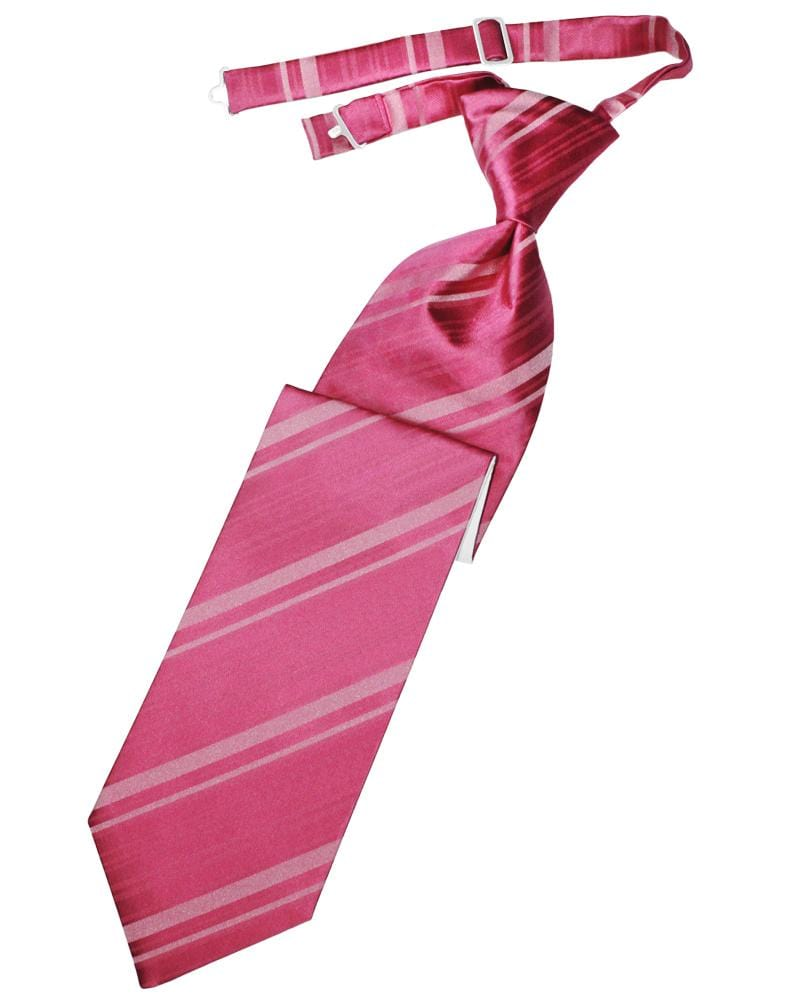 Watermelon Striped Satin Kids Necktie