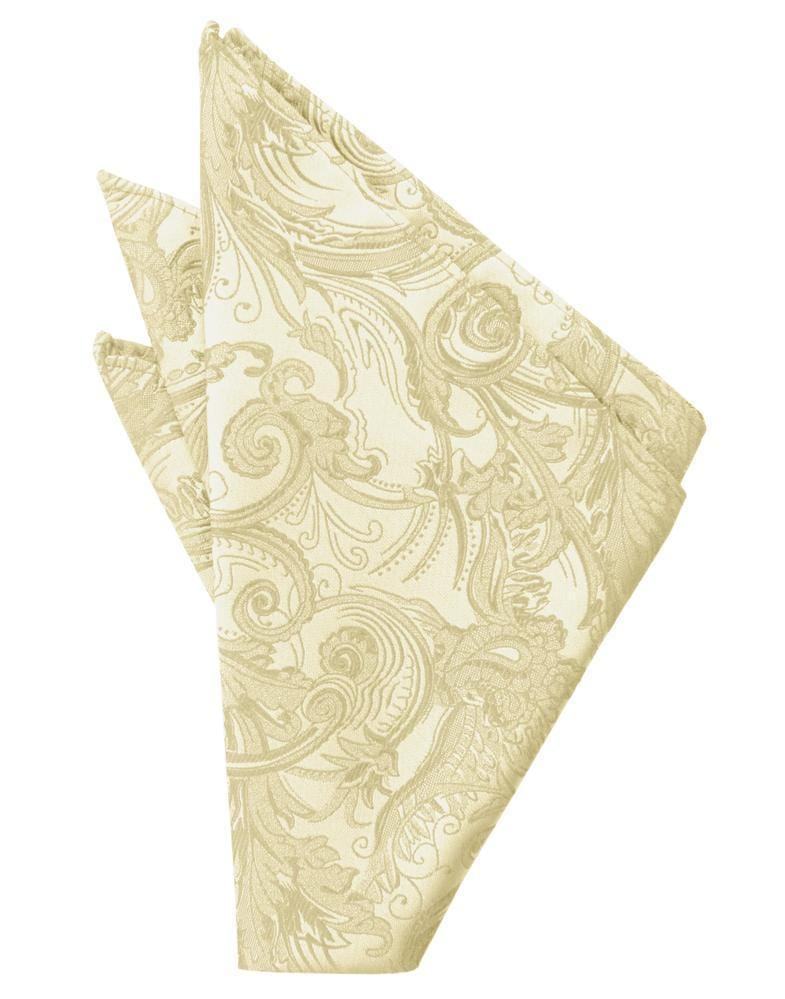 Golden Tapestry Pocket Square
