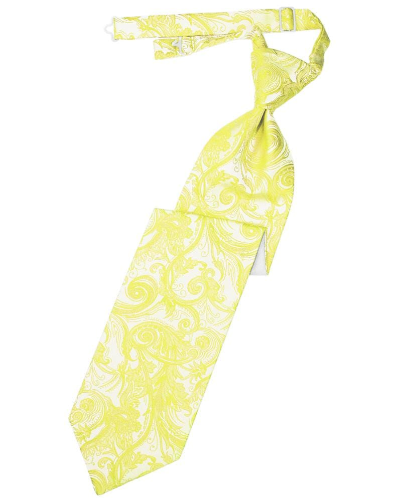 Lemon Tapestry Kids Necktie