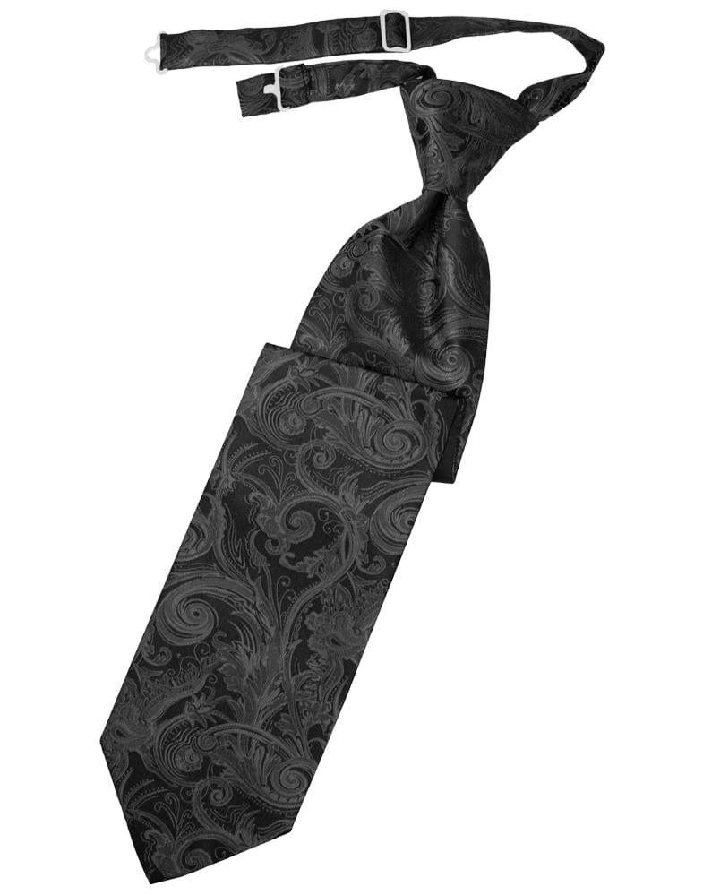 Pewter Tapestry Kids Necktie