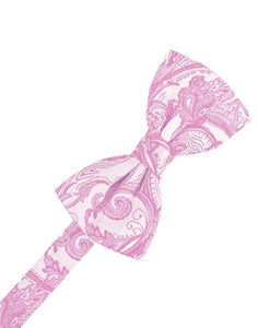 Rose Petal Tapestry Bow Tie