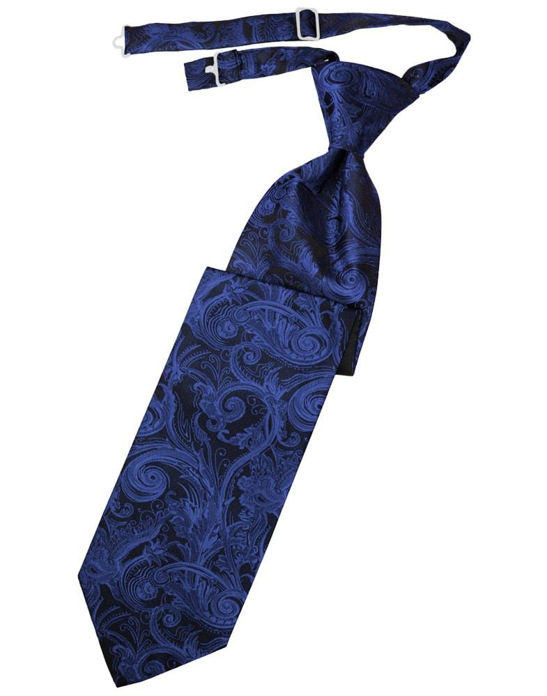 Royal Blue Tapestry Kids Necktie