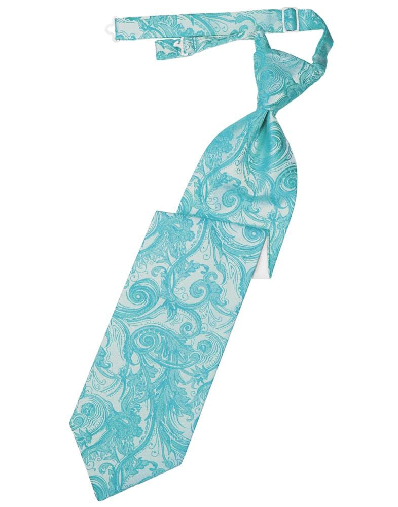 Turquoise Tapestry Kids Necktie