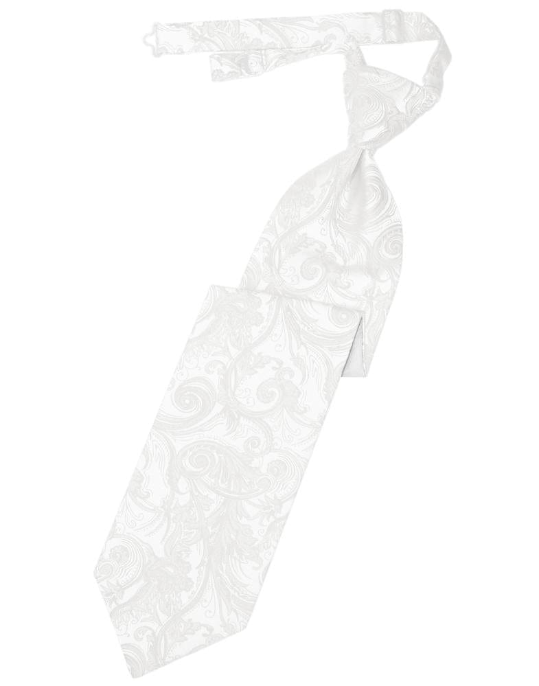 White Tapestry Kids Necktie