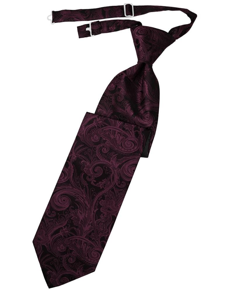Wine Tapestry Kids Necktie
