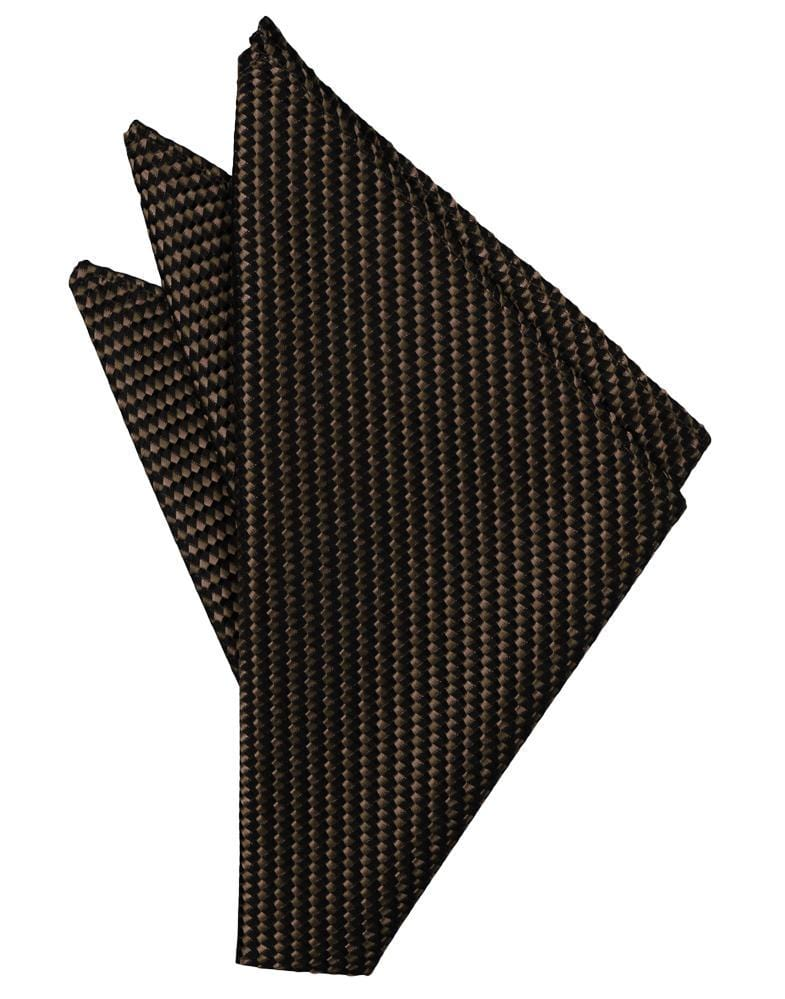 Chocolate Venetian Pocket Square