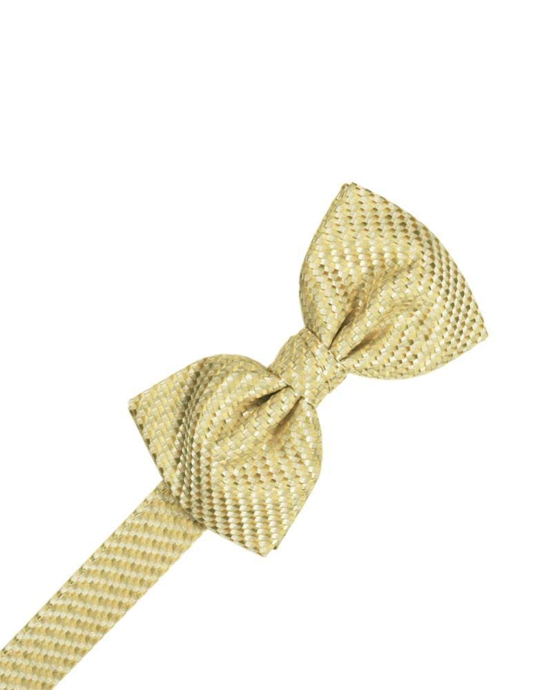 Honey Mint Venetian Bow Tie