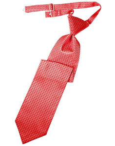 Red Venetian Kids Necktie