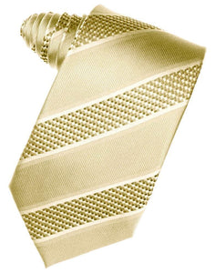 Harvest Maize Venetian Stripe Necktie