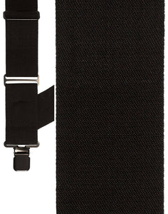 """Black Side Clip Wide"" Suspenders"