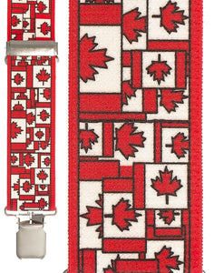 """Canadian Patchwork"" Suspenders"