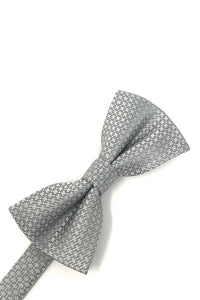 Grey Regal Bow Tie