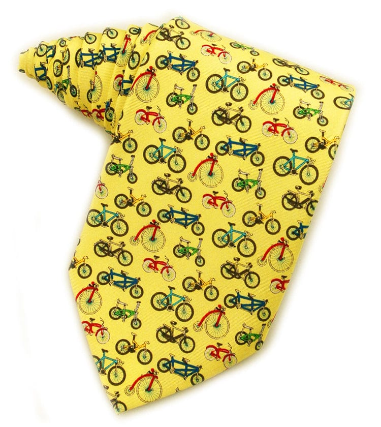 Evolution of the Bicycles Yellow Tie