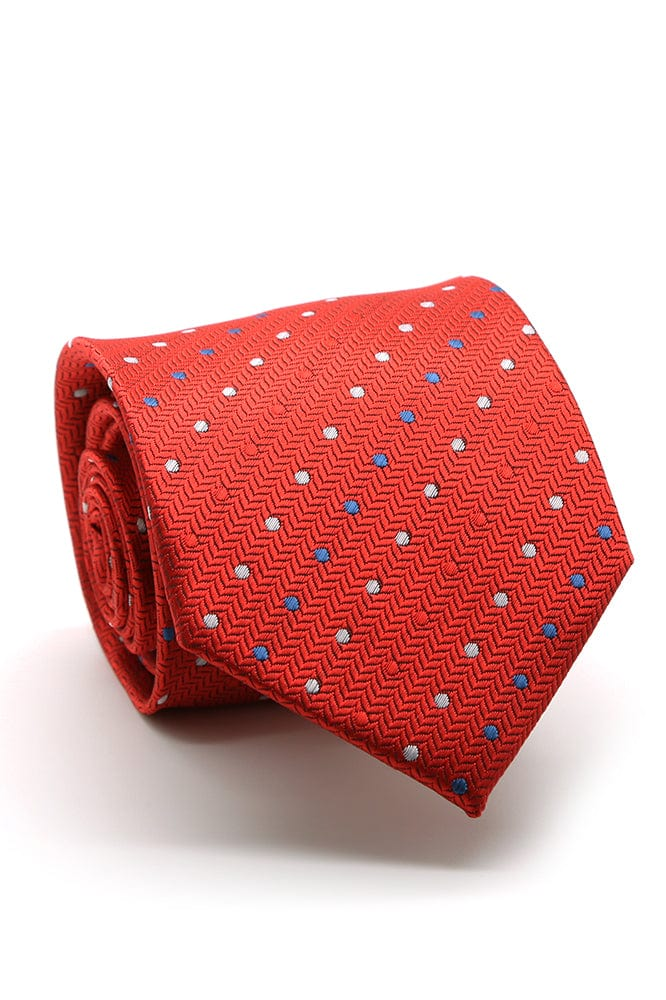 Red and Blue Corona Necktie
