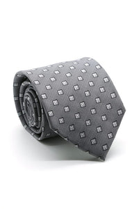Grey Imperial Necktie